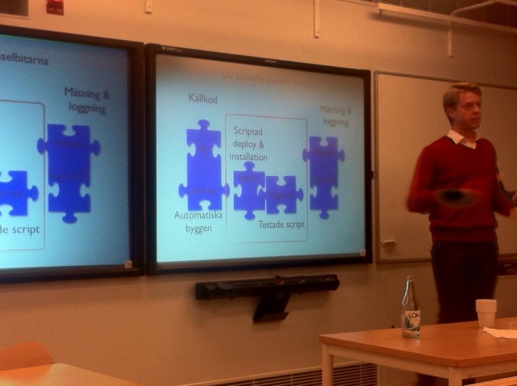 Presentation 2013 - Vagrant och Fabric